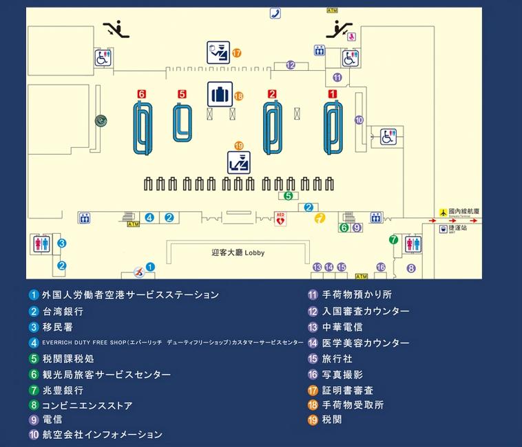 台湾・高雄国際空港から市内へのアクセス方法