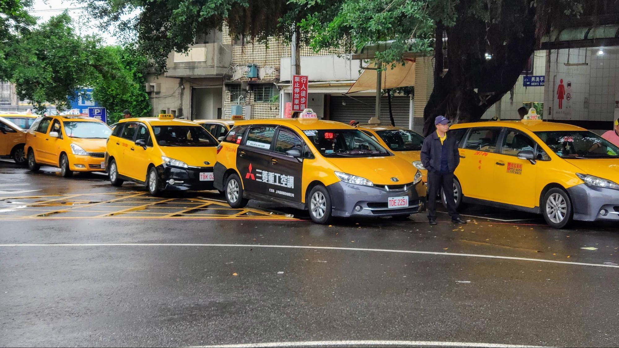 台中のタクシーの乗り方ガイド(種類・料金・トラブル情報)
