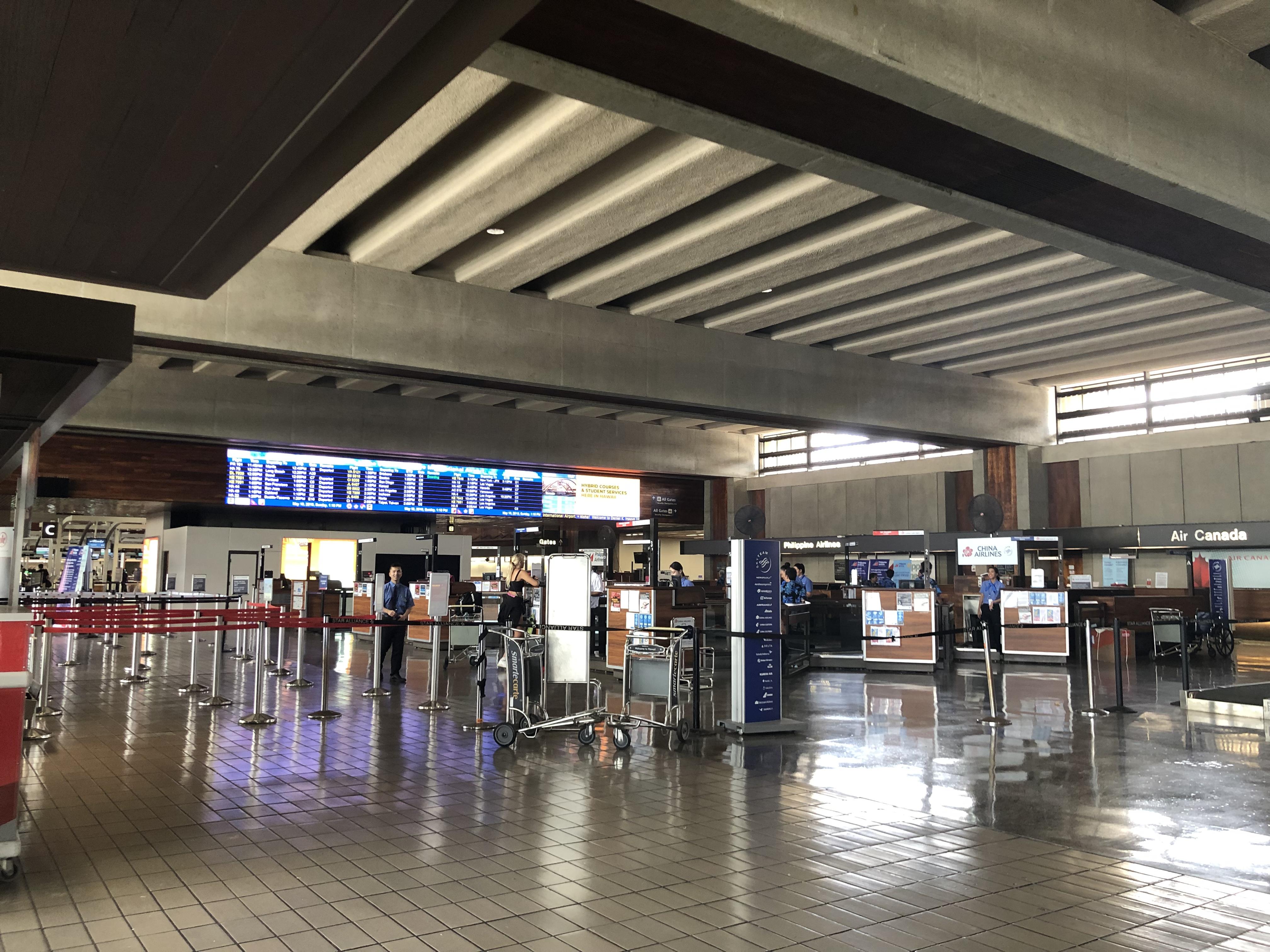 ハワイ・ホノルル(オアフ島)入国審査・出国手続き〜ESTA、イミグレーション