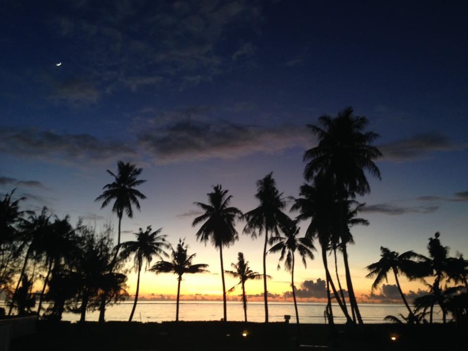 グアム島の天気と気温、旅行中のおすすめの服装とおすすめ天気予報サイト