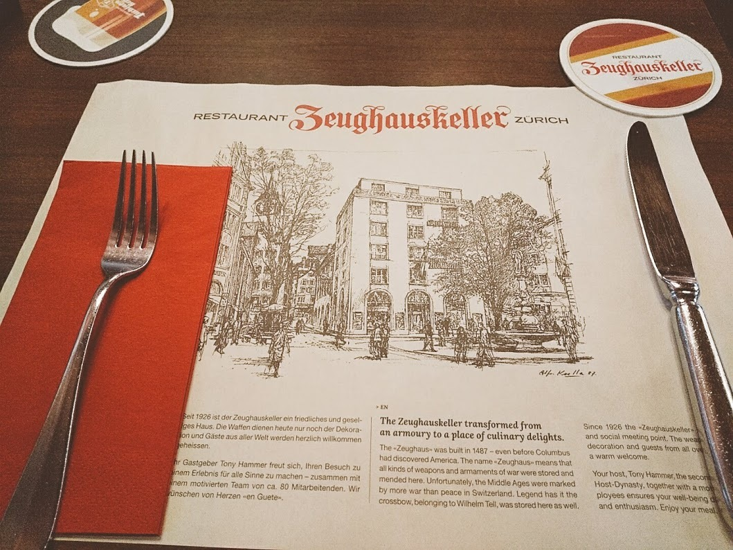 チューリッヒで一番有名なローカルレストラン、Zeughauskeller | チューリッヒ在住Annalieseさんのおすすめグルメ・食事スポット