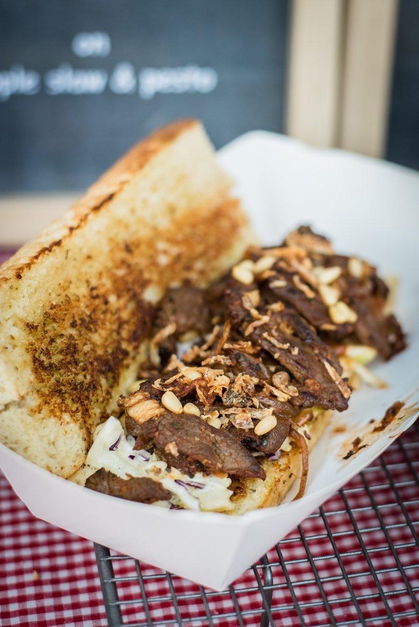 オープンサンドイッチ | ロトルア在住山田早矢香さんのおすすめ料理・食べ物