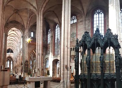 ゼーバルト教会 | ニュルンベルク在住まっちゃさんのおすすめ観光スポット