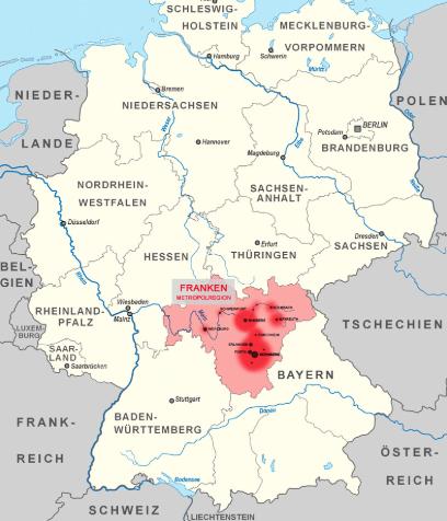フランケン地方 | ニュルンベルク在住まっちゃさんのおすすめエリア・地区