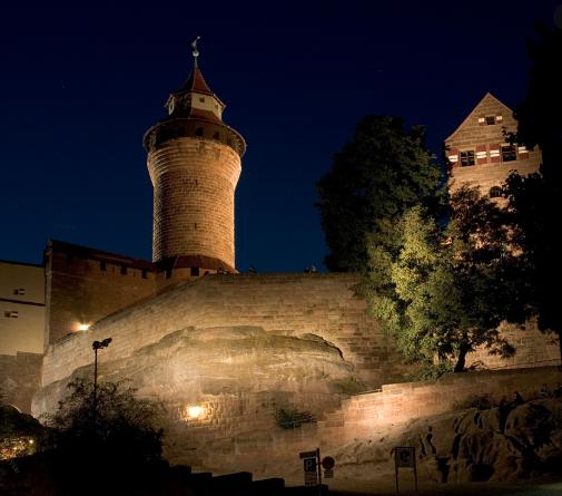 カイザーブルク城   ニュルンベルク在住まっちゃさんのおすすめ夜遊びスポット