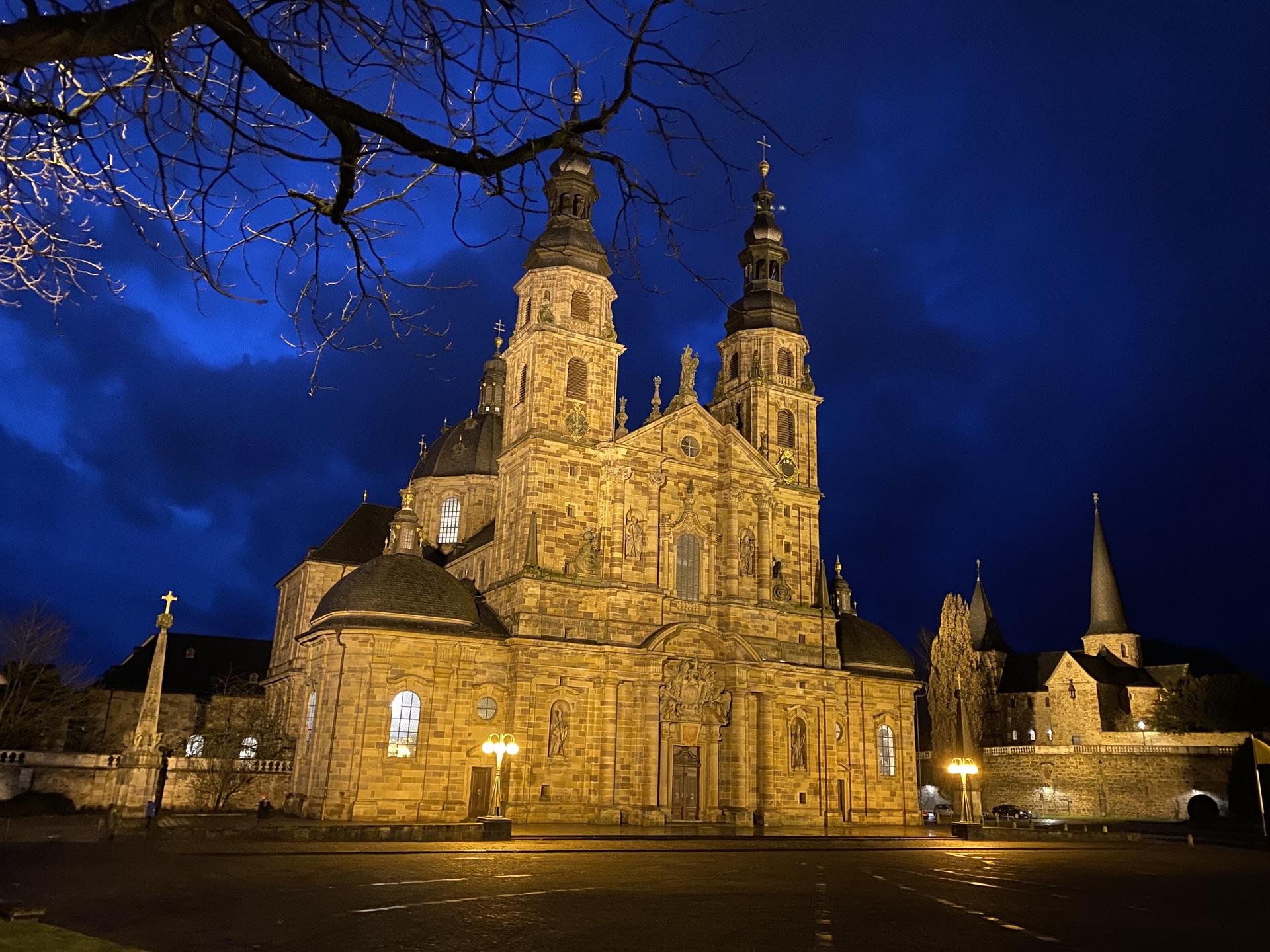 フルダ聖堂 | フルダ在住一茶さんのおすすめ夜景スポット