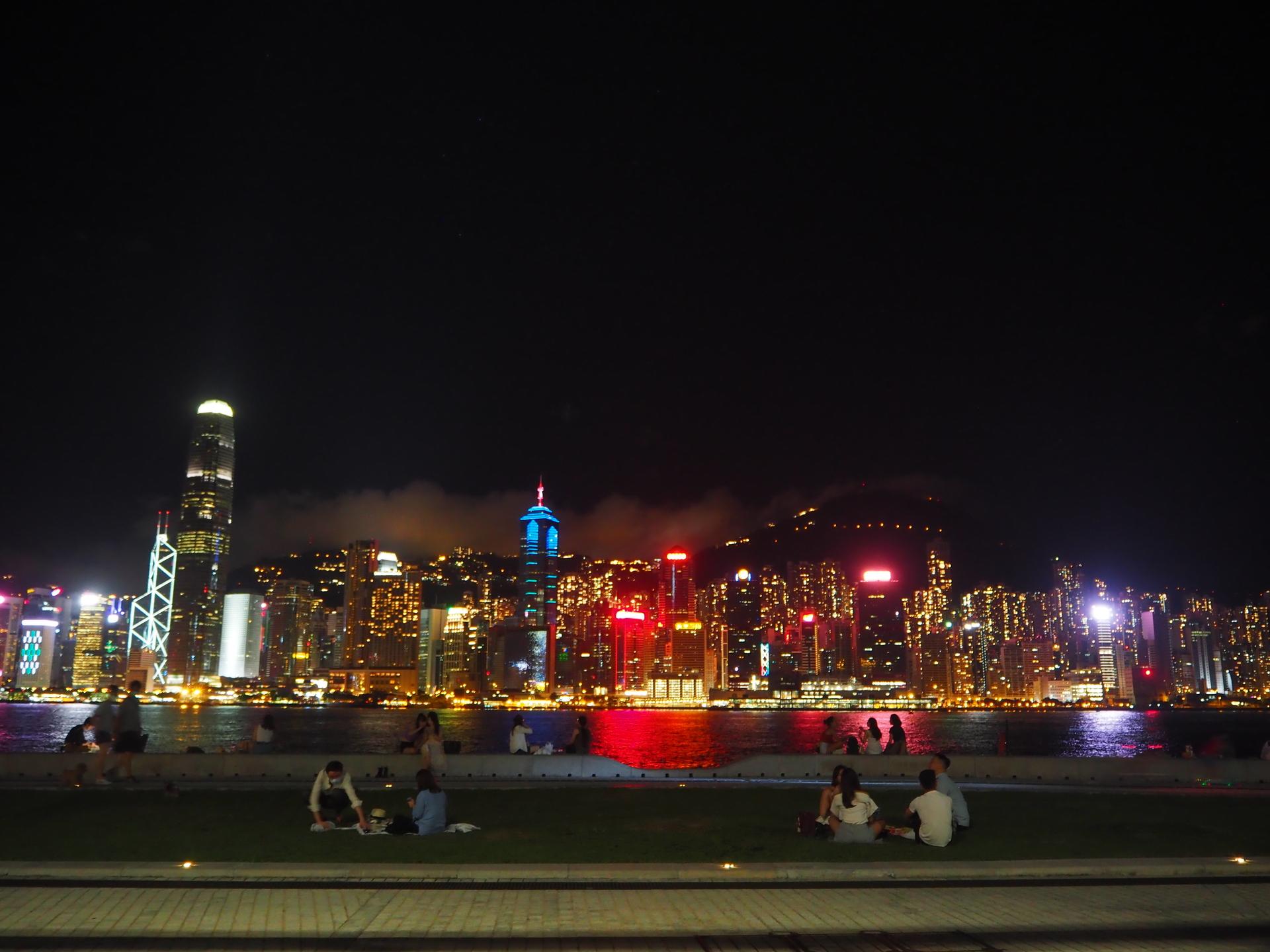 西九龍文化公園 | ホンコン(香港)在住シンゴさんのおすすめ夜景スポット