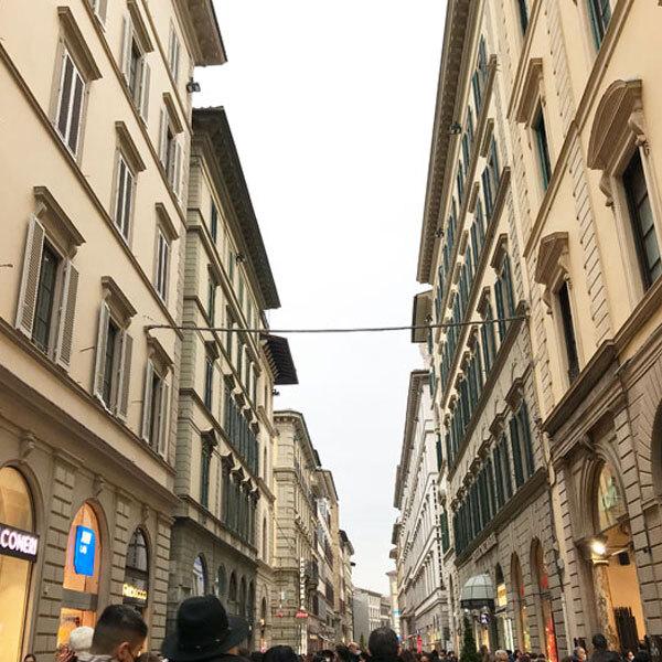 フィレンツェ歴史地区はすべてが買い物スポット!特にカルツァイウォーリ通りとトルナブオーニ通り | フィレンツェ在住yukinaさんのおすすめショッピング・買物スポット
